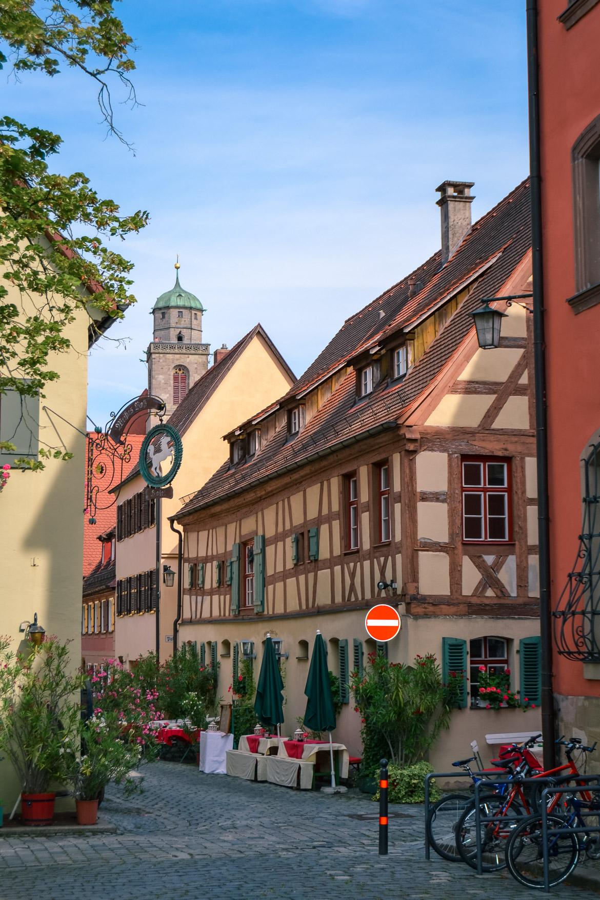 Germania Baviera Dinkesbuhl case graticcio - in Viaggio con Monica