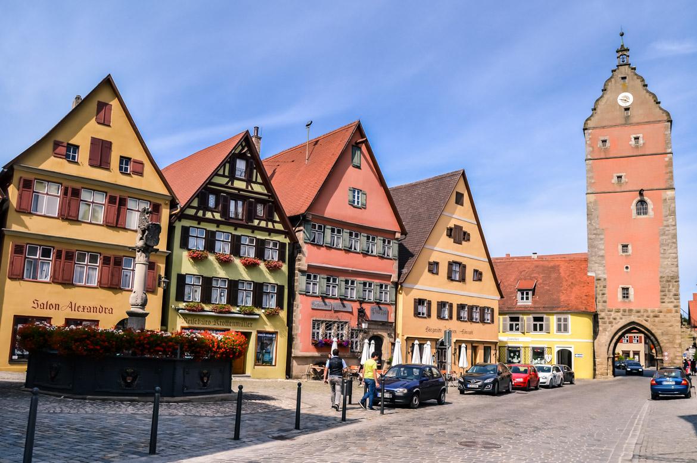 Baviera Dinkesbuhl torre - in Viaggio con Monica