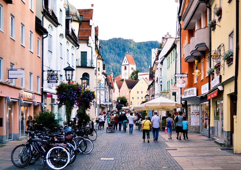 Baviera Fussen strada - in Viaggio con Monica