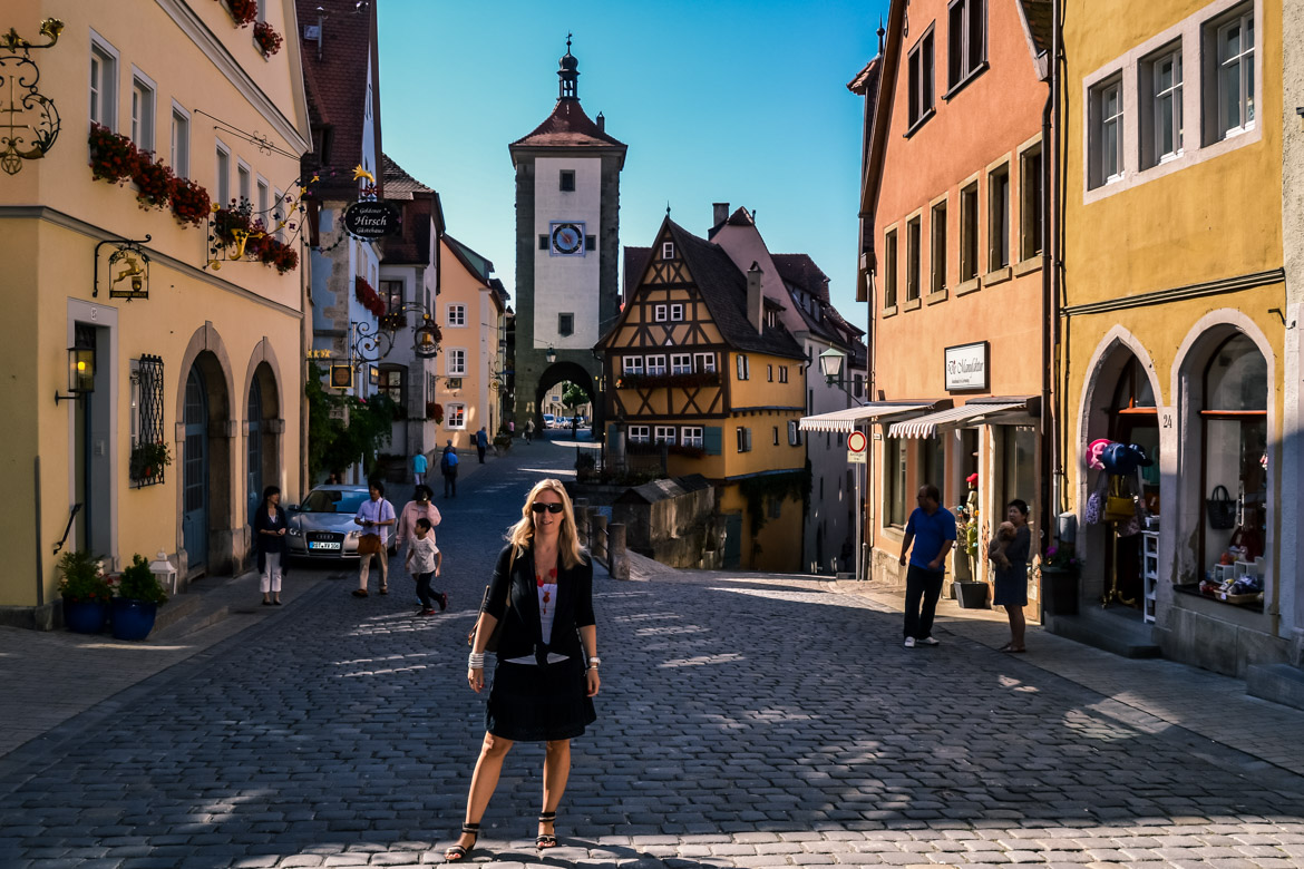 Baviera Rothenburg ob der Tauber - Monica Bruni - in Viaggio con Monica