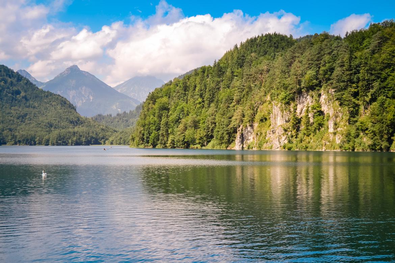 Hohenschwangau e Neuschwanstein Lago Alpsee - in Viaggio con Monica
