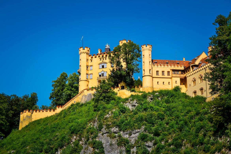 Castello Hohenschwangau - in Viaggio con Monica