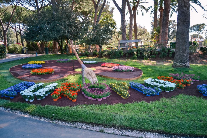 Genova Euroflora tavolozza colori - in Viaggio con Monica