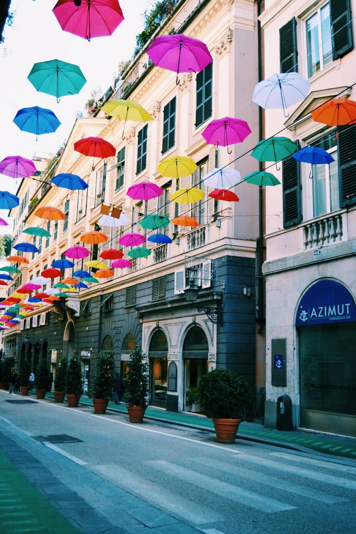 Genova Via XXV Aprile - In Viaggio Con Monica