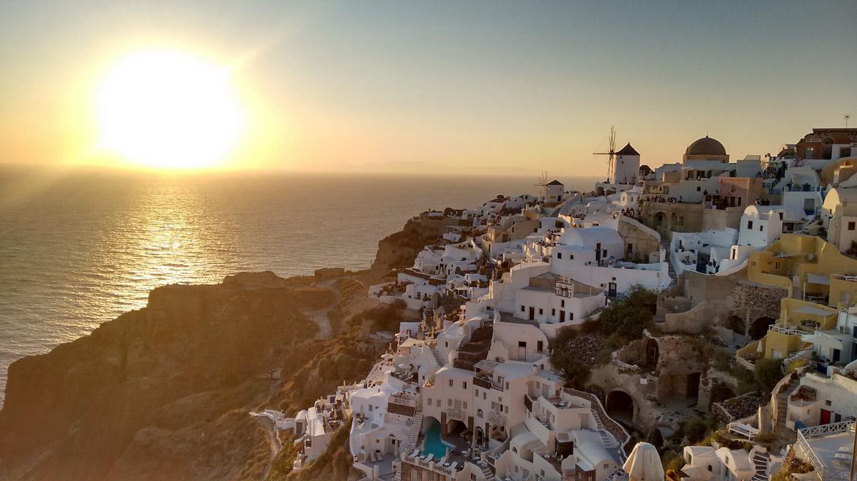 Grecia Santorini tramonto - In Viaggio Con Monica