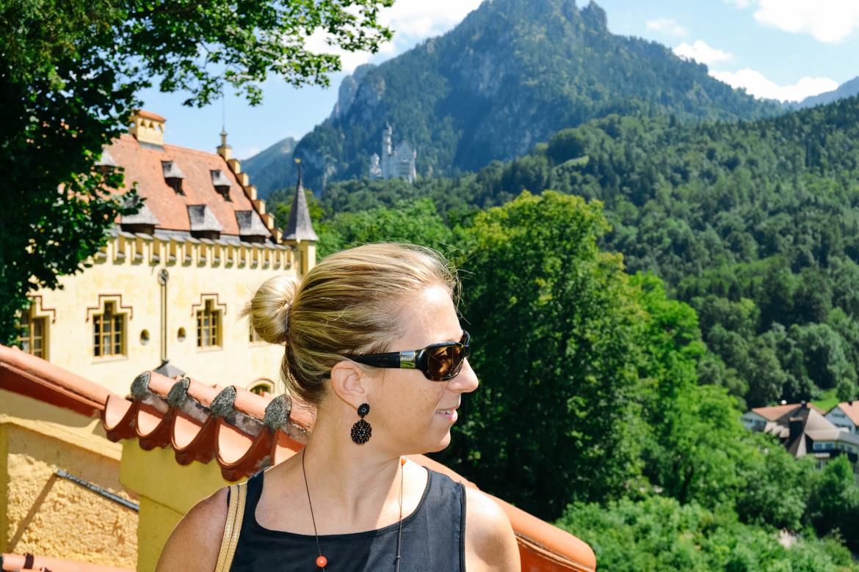 Hohenschwangau - Monica Bruni - in Viaggio con Monica