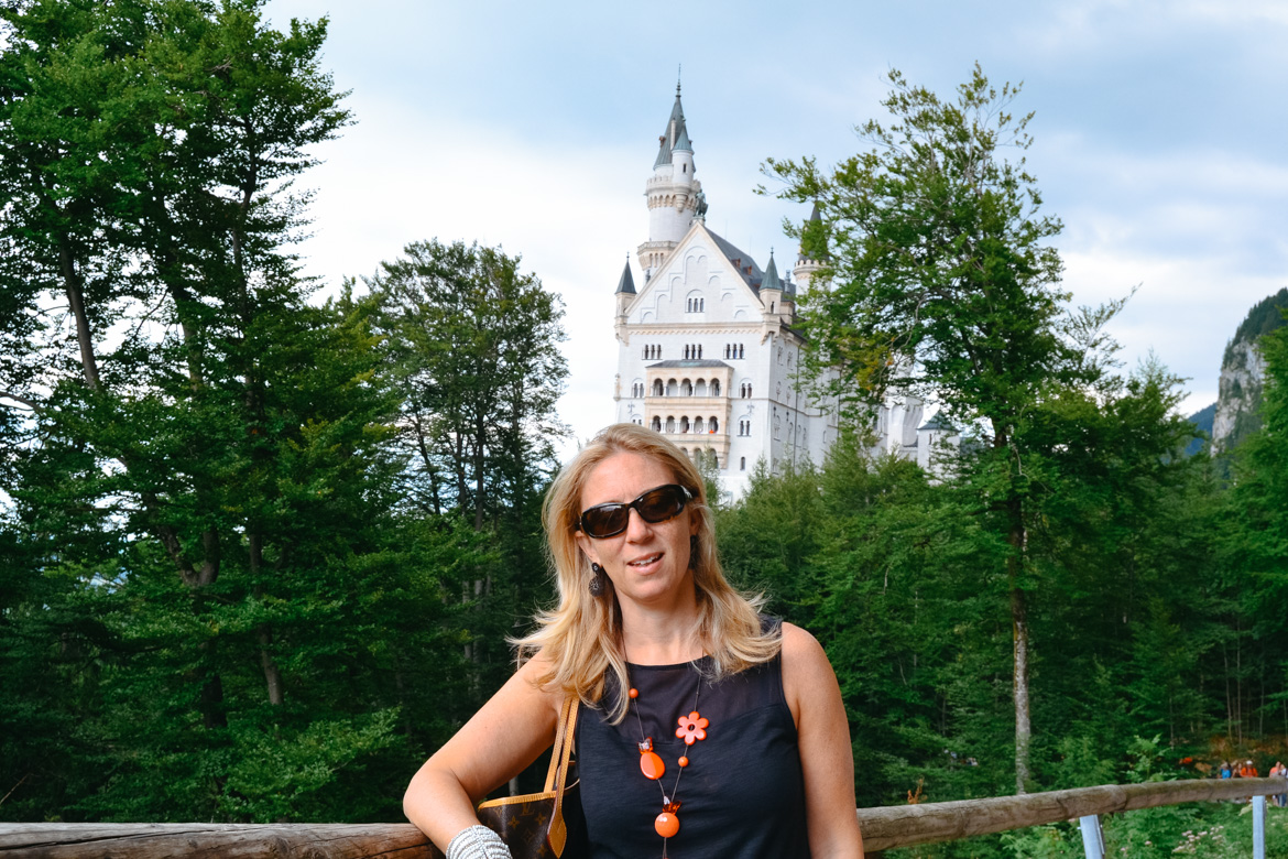 Neuschwanstein - Monica Bruni -Travel Blogger - In viaggio con Monica