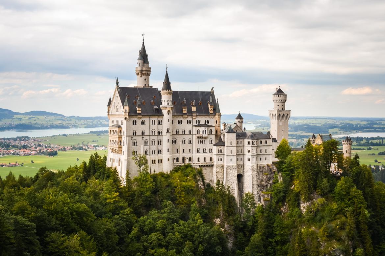 Castello di Neuschwanstein - in Viaggio con Monica