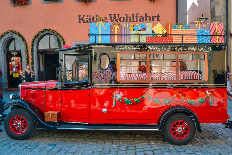 Rothenburg ob der Tauber - Kathe Wohlfahrt - Monica Bruni in Viaggio con Monica