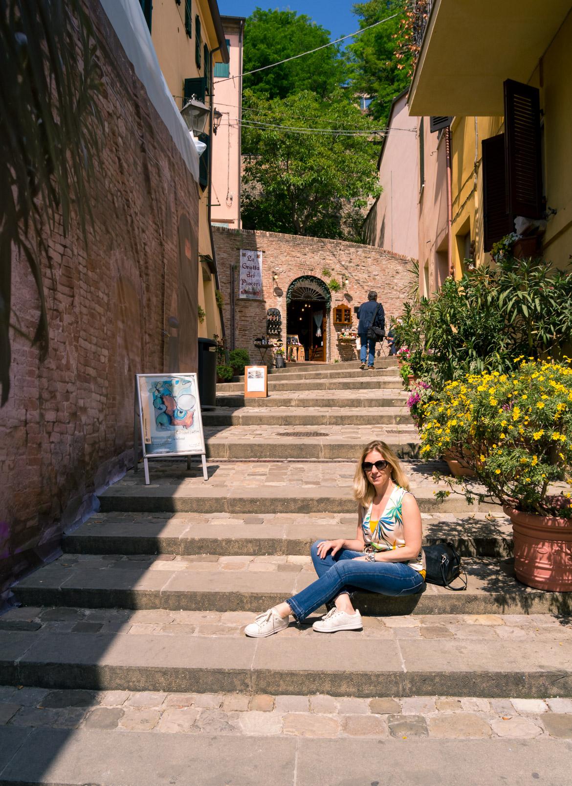 Monica Bruni - Santarcangelo di Romagna - In Viaggio Con Monica