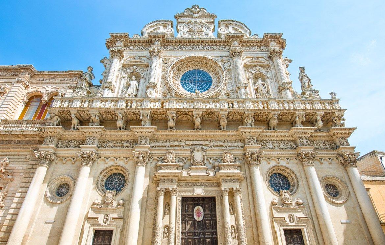 Puglia Lecce Chiesa Santa Croce - In Viaggio Con Monica