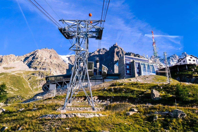 Skyway Monte Bianco Arrivo Pavillon - In Viaggio Con Monica