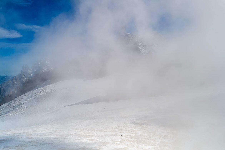 Skyway Punta Helbronner Nuvole - In Viaggio Con Monica