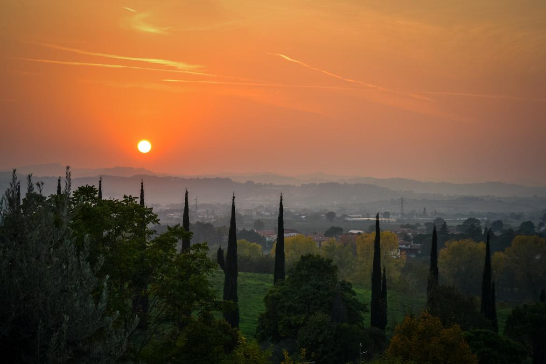 Tramonto Santarcangelo di Romagna - In Viaggio Con Monica