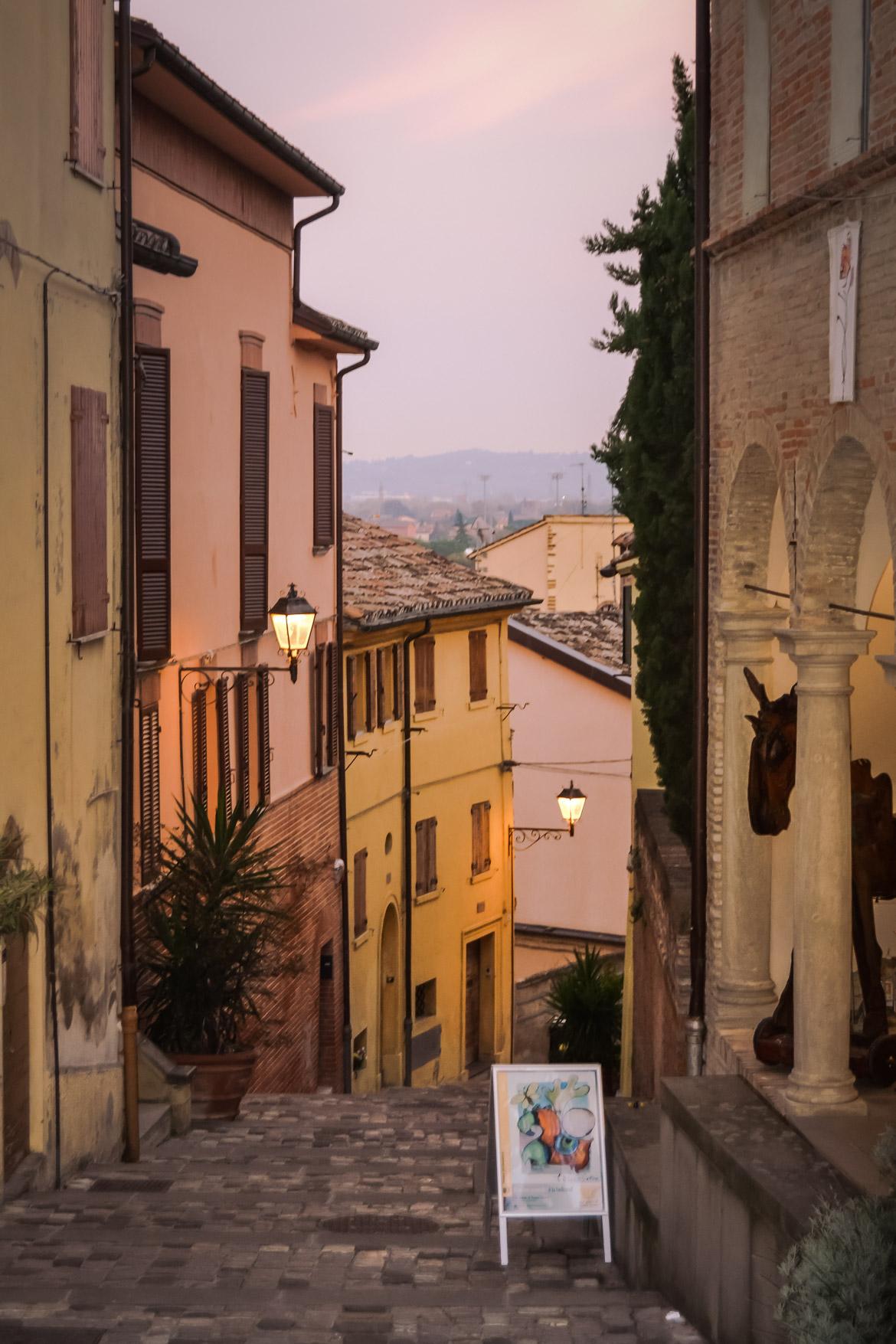 Vicolo Crepuscolo Santarcangelo di Romagna - In Viaggio Con Monica