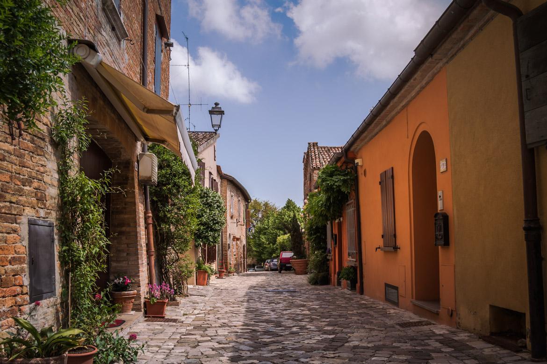 Vicolo panoramica Santarcangelo di Romagna - In Viaggio Con Monica