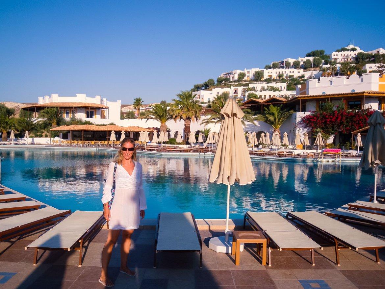 Kos Aegean Village Piscina - Monica Bruni - In Viaggio Con Monica