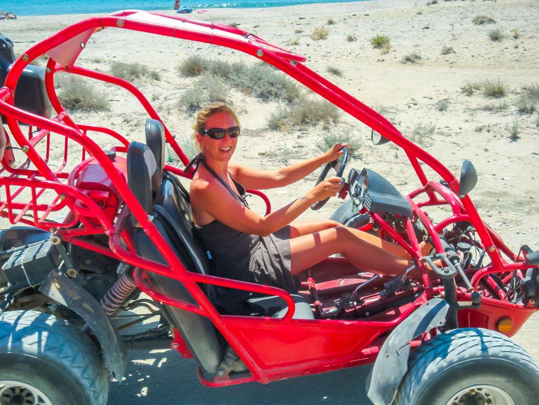 Grecia Kos Spiaggia Buggy - Monica Bruni In Viaggio Con Monica