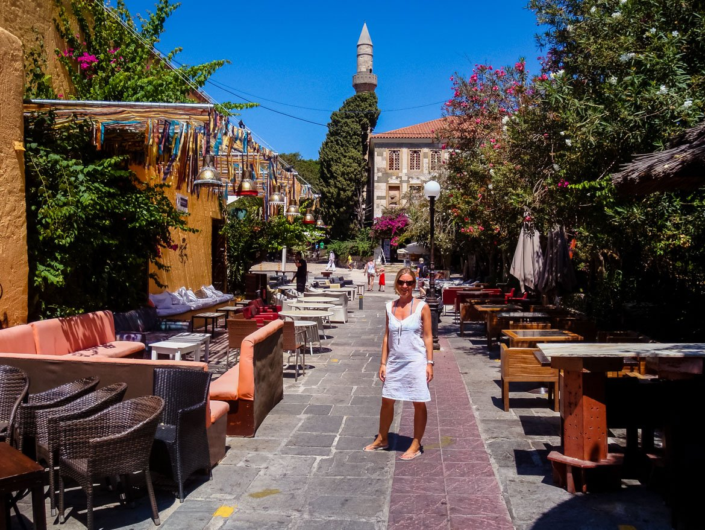 Kos Town Bar Street - Monica Bruni - In Viaggio Con Monica