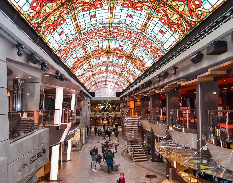 MSC Meraviglia Galleria - In Viaggio Con Monica