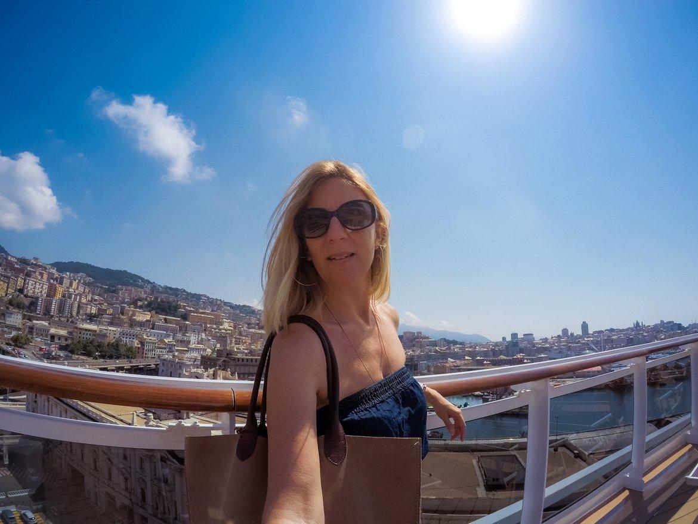 MSC Seaview Monica Bruni - Travel Blogger - Genova - In Viaggio Con Monica