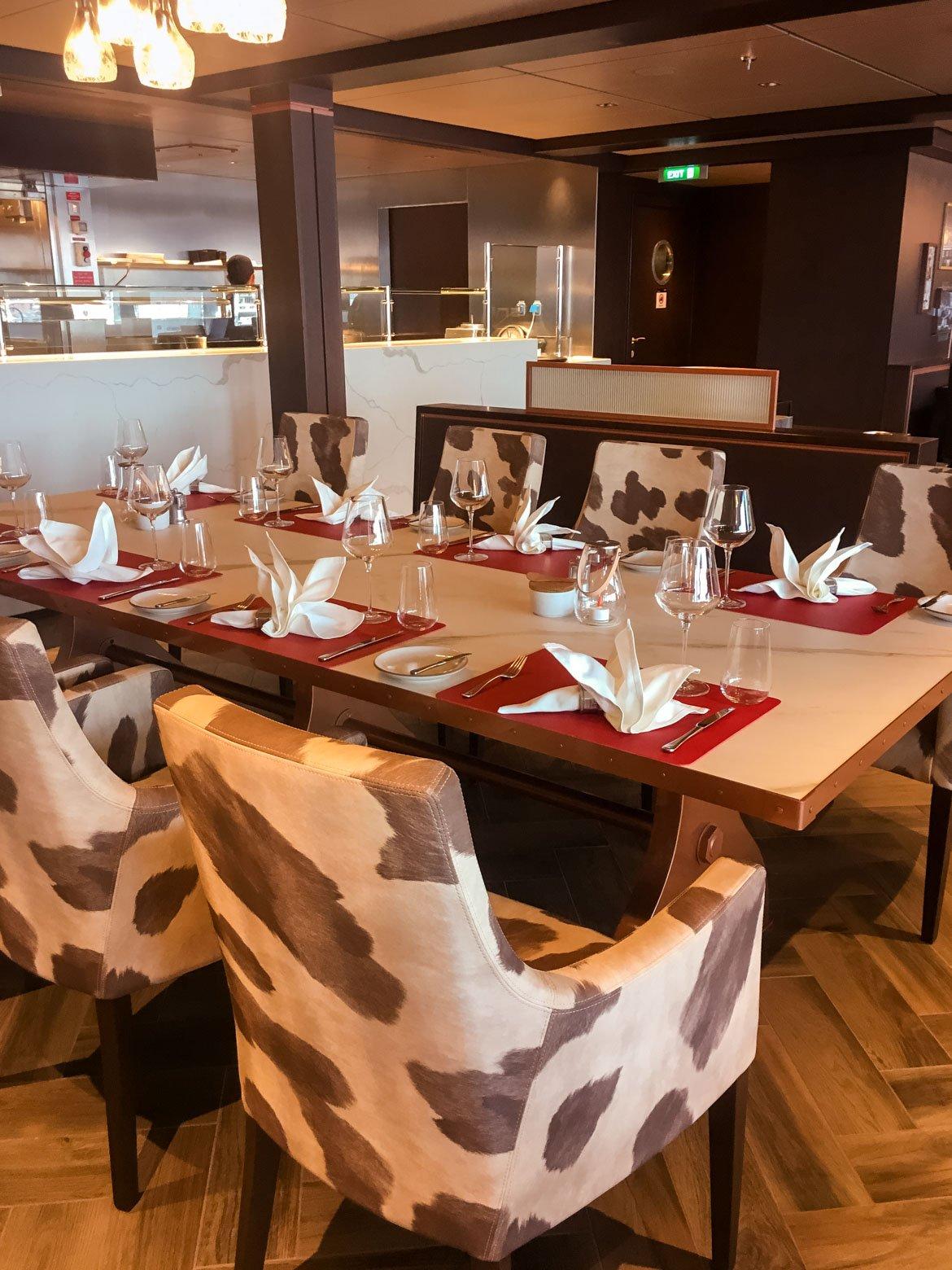 MSC Seaview steak house - In Viaggio Con Monica