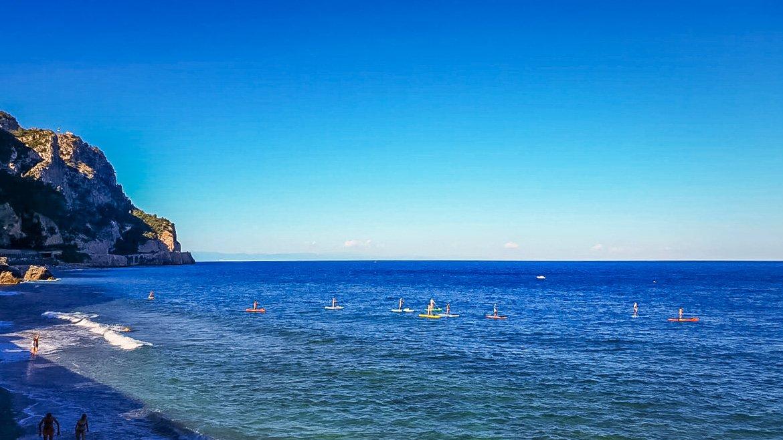 Varigotti spiaggia Malpasso - In Viaggio Con Monica