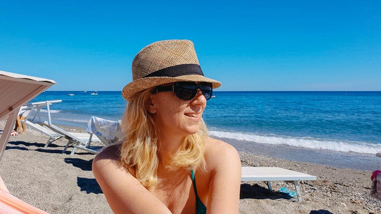 Varigotti spiaggia - Monica Bruni - In Viaggio Con Monica