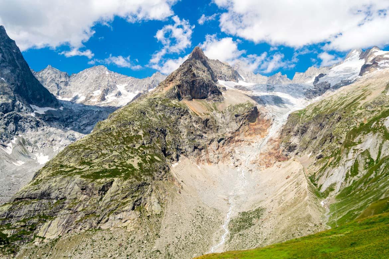Col Grand Ferret ghiacciaio dettaglio - In Viaggio Con Monica
