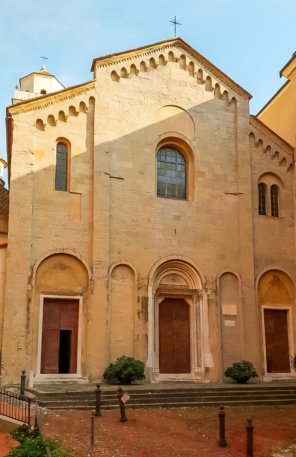 Genova Chiesa Santa Maria Castello - In Viaggio Con Monica