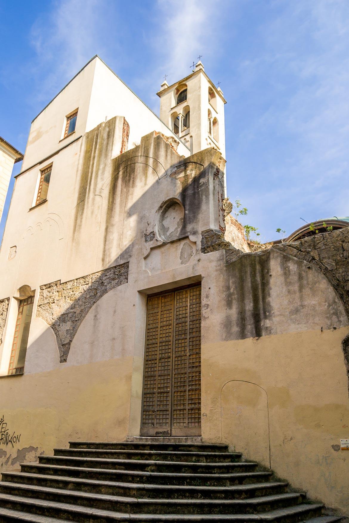 Genova Chiesa Santa Maria Passione facciata - In Viaggio Con Monica