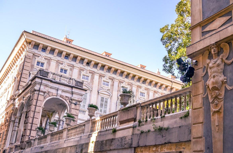 Genova Via Garibaldi - In Viaggio Con Monica