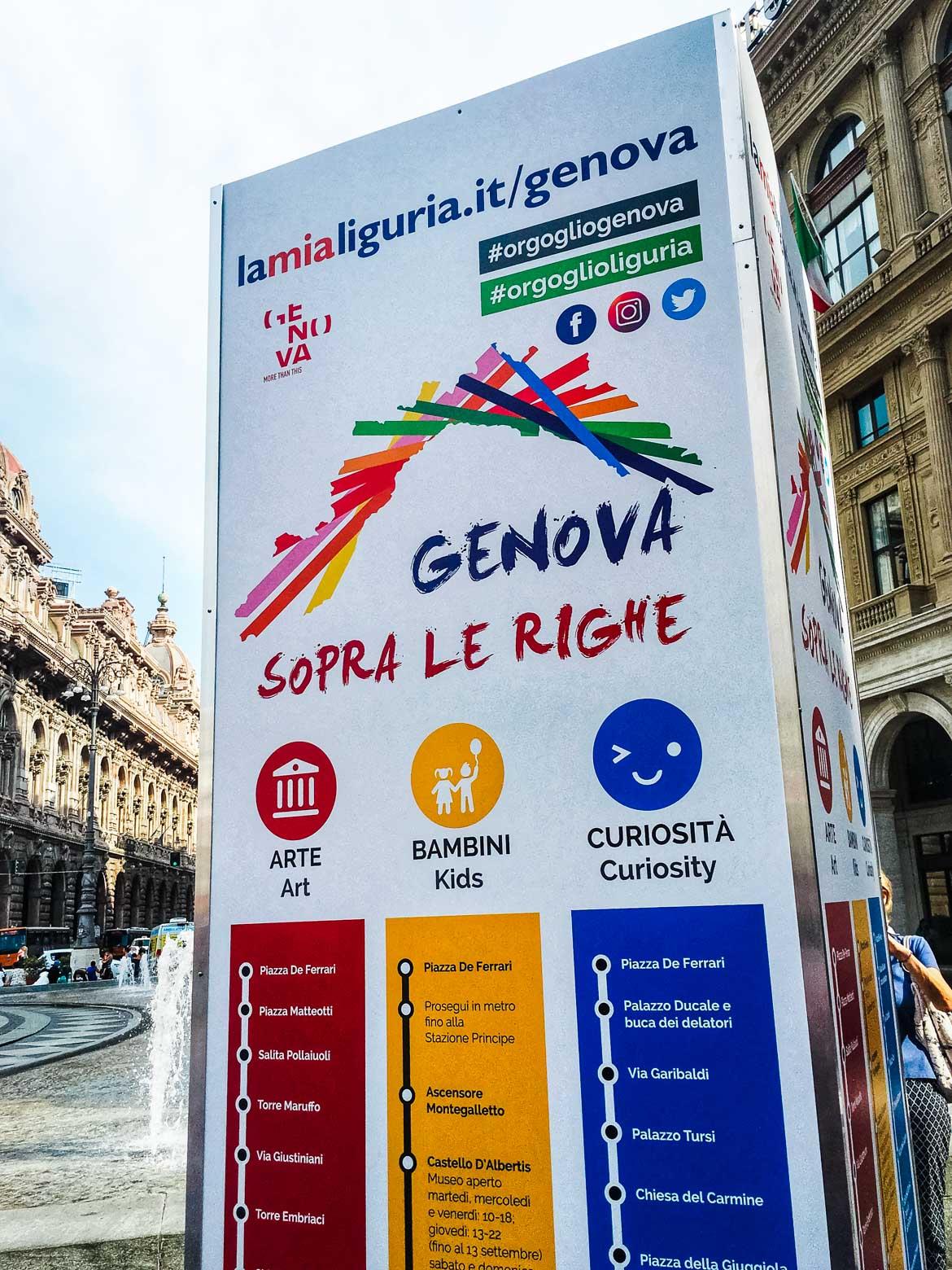 Genova sopra le righe - In Viaggio Con Monica