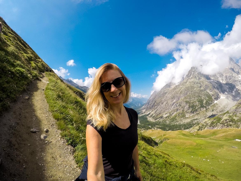 Val Ferret - Monica Bruni - sentiero - In Viaggio Con Monica