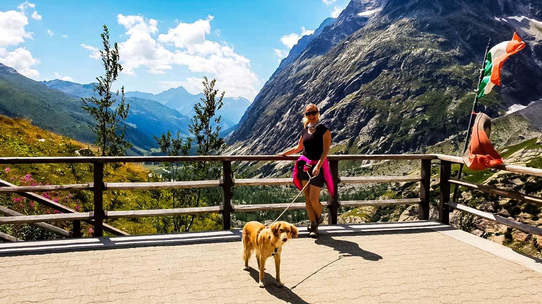 Val Ferret Rifugio Elena terrazza - Monica Bruni - Dolli - In Viaggio Con Monica
