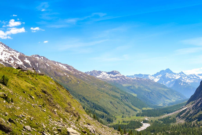 Val Ferret rifugio Elena panoramica - In Viaggio Con Monica