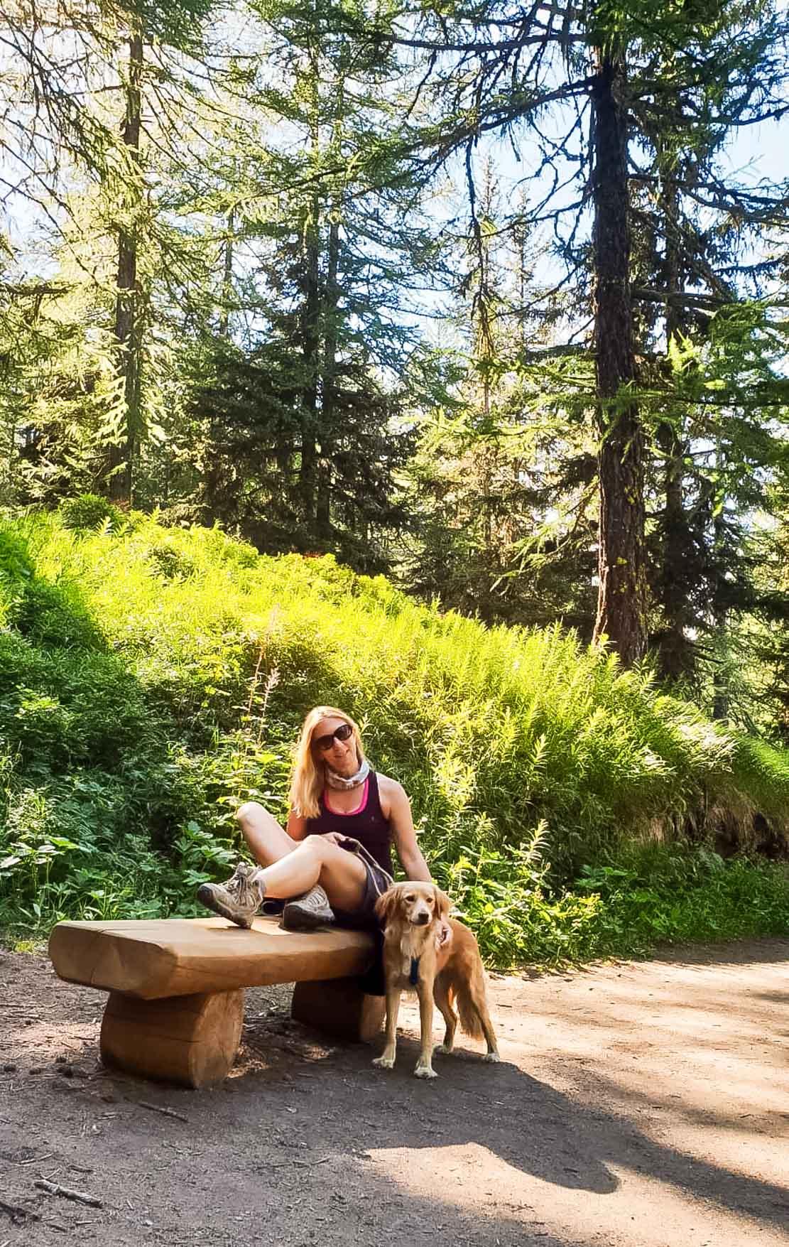 Valle d'Aosta Escursione al Lago d'Arpy - In Viaggio Con Monica