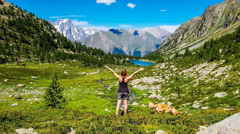 Valle Aosta Lago Arpy panorama - Monica Bruni - In Viaggio Con Monica