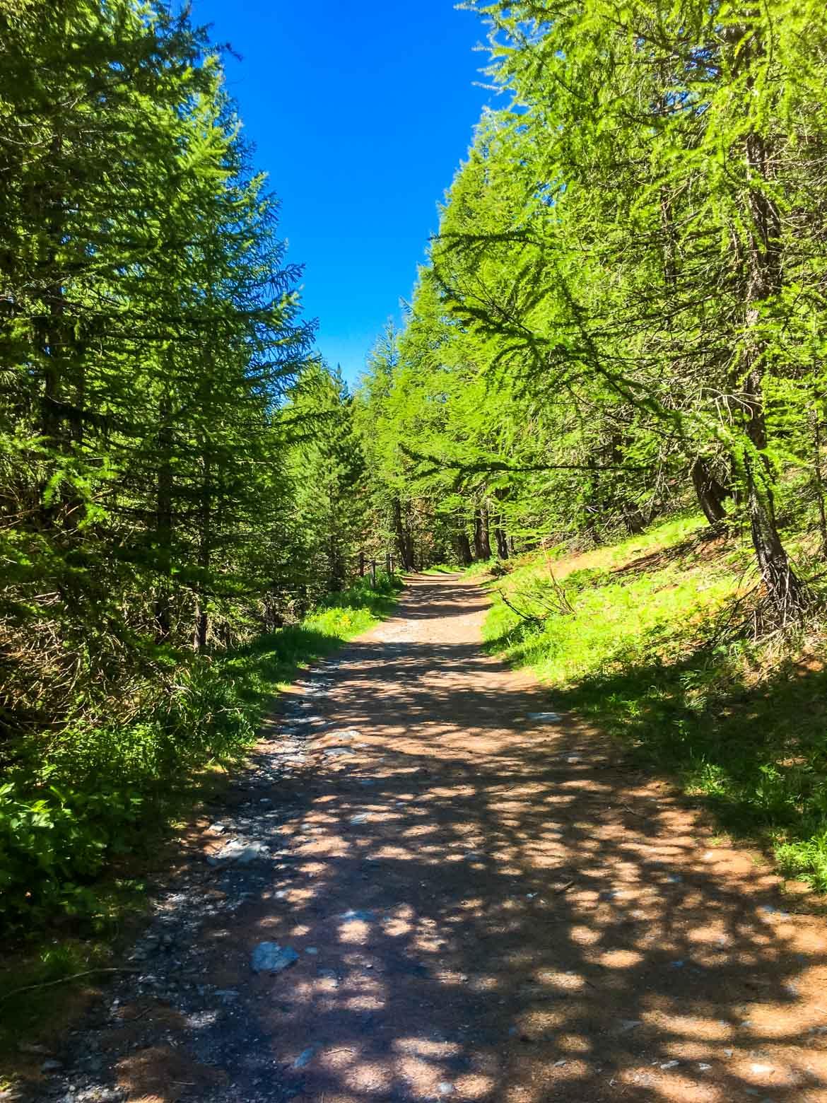 Valle Aosta Lago Arpy sentiero - In Viaggio Con Monica