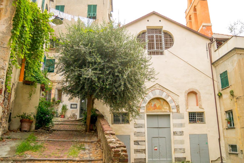 Genova Carmine Piazza Olivella panoramica - In Viaggio Con Monica