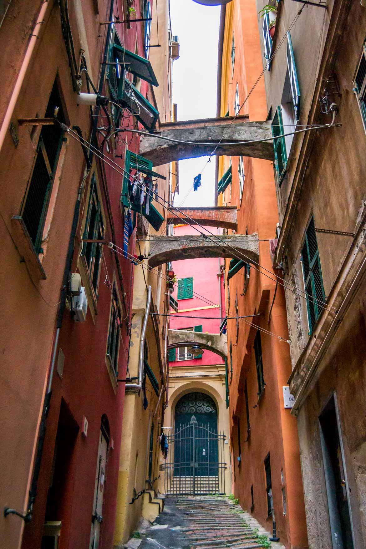 Genova Carmine Salita San Bernardino - In Viaggio Con Monica