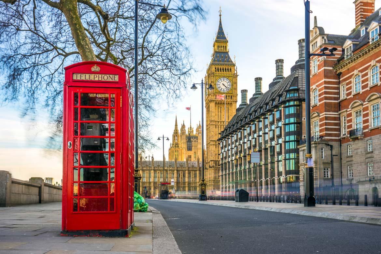 Londra cabina telefonica - In Viaggio Con Monica