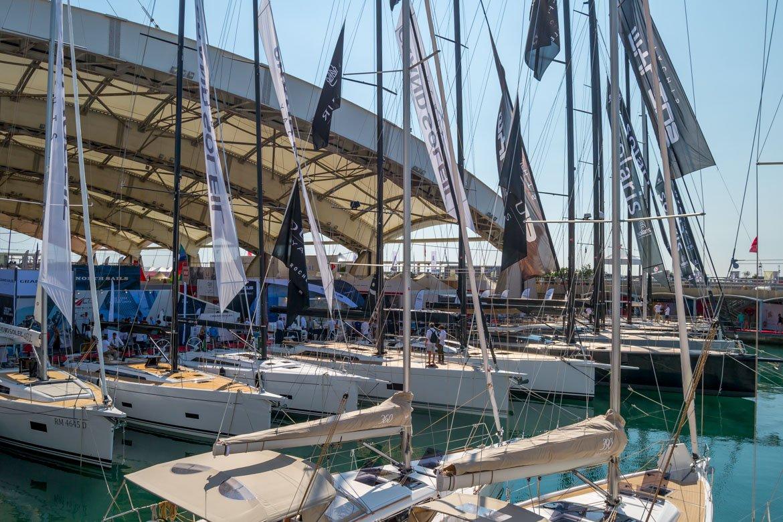 Salone nautico panoramica vele - In Viaggio Con Monica