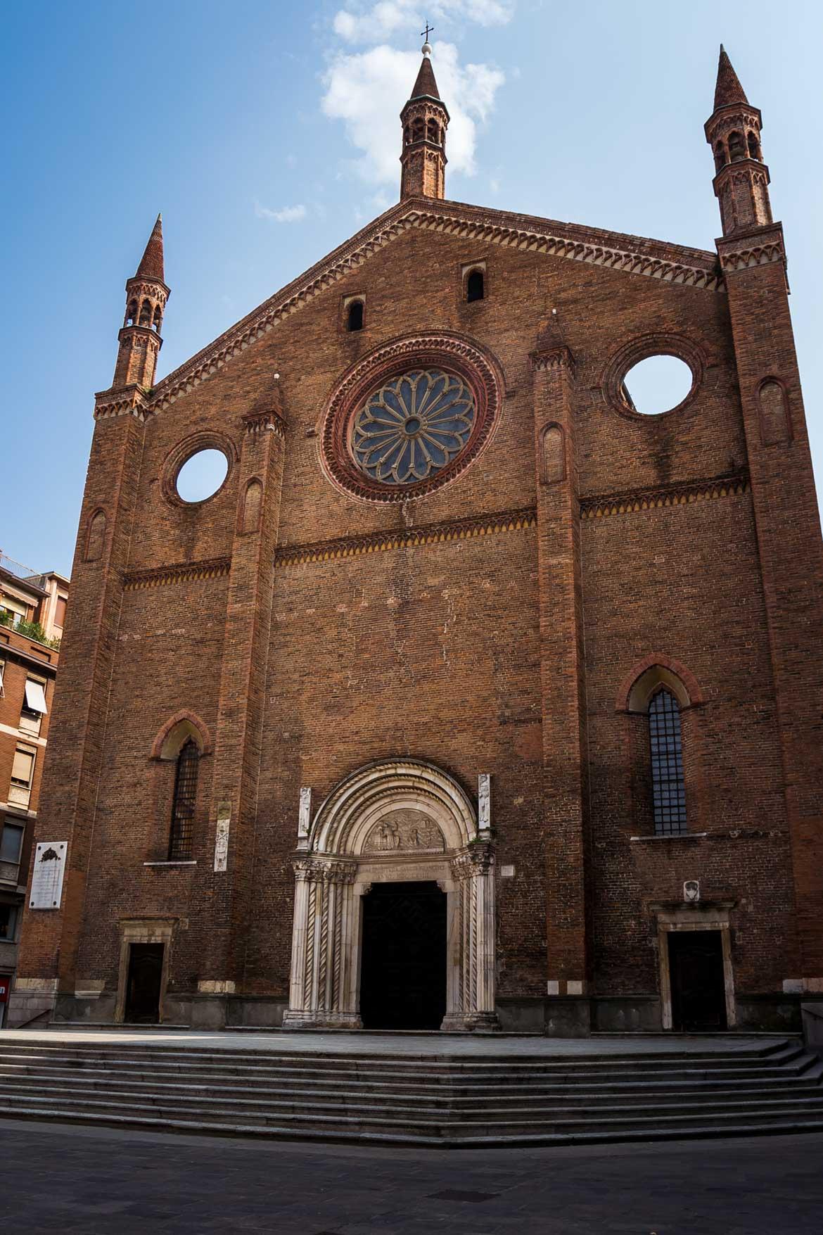 Piacenza Chiesa San Francesco - In viaggio con Monica
