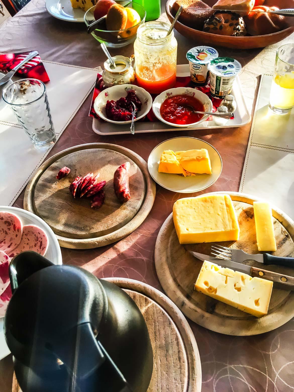 Bolzano colazione Haus Romen - In viaggio con Monica