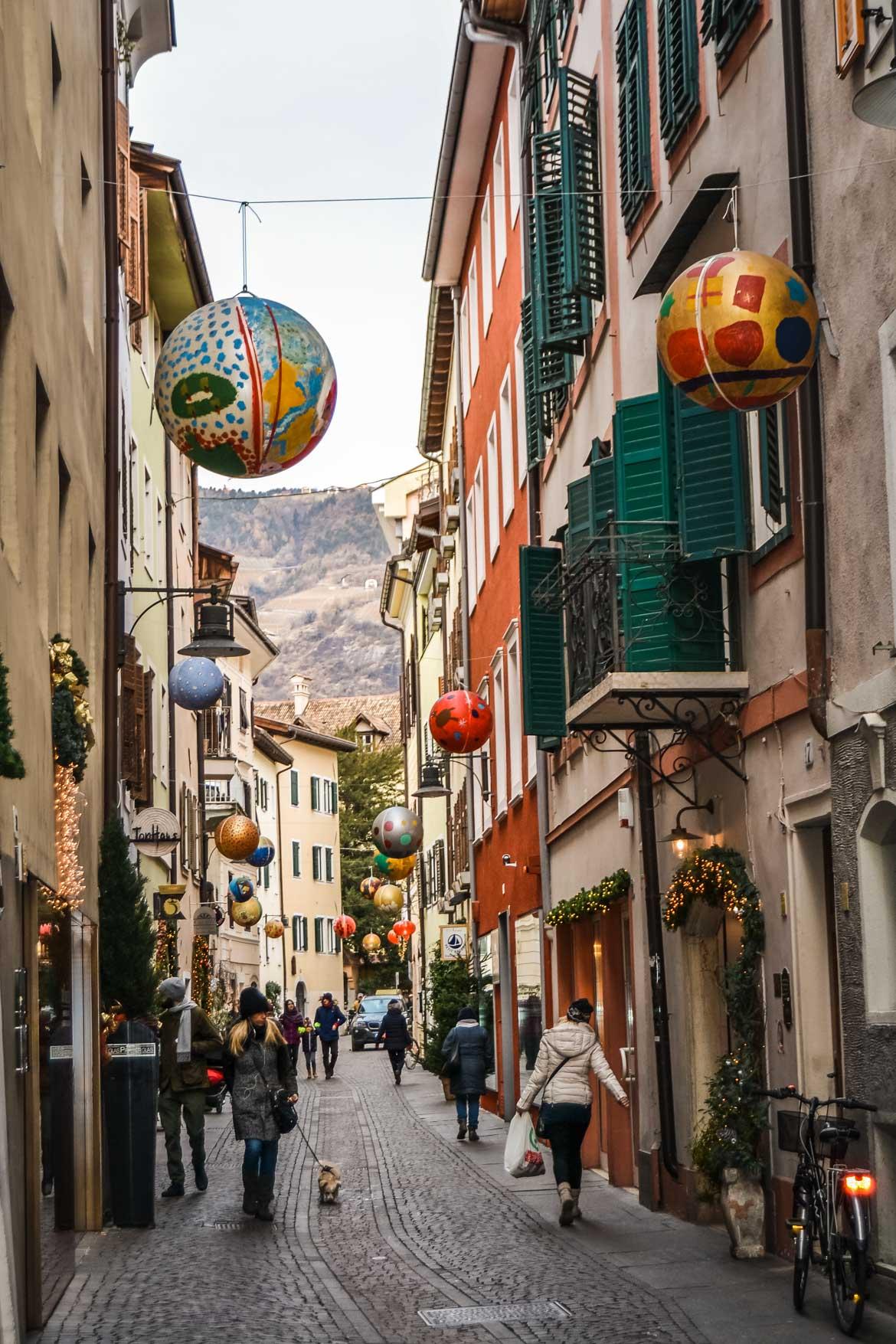 Bolzano strada Natale - In viaggio con Monica