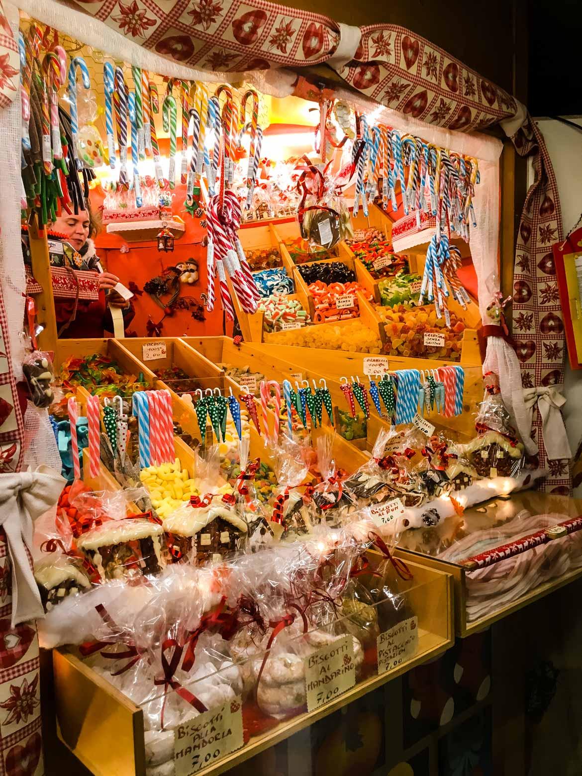 Bressanone mercatino Natale candy - In viaggio con Monica
