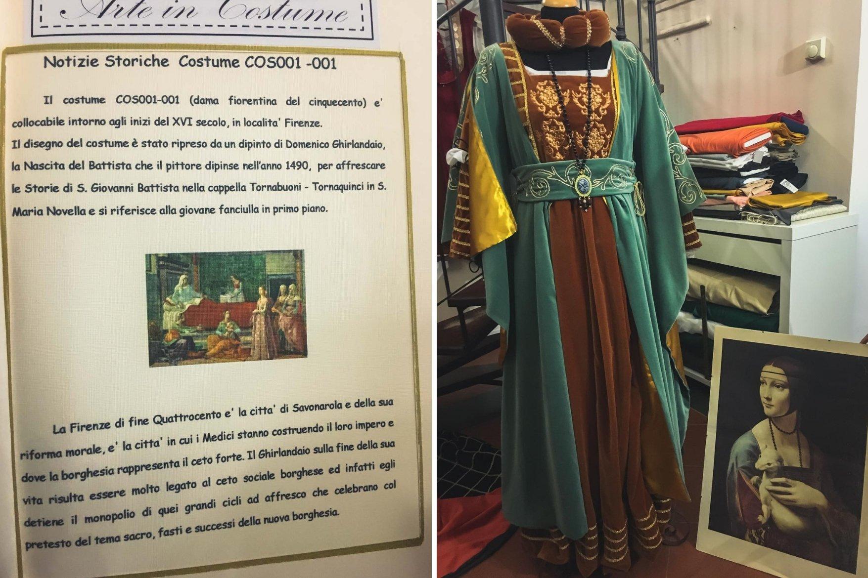 Dettagli abiti - In viaggio con Monica - Monteleone d'Orvieto