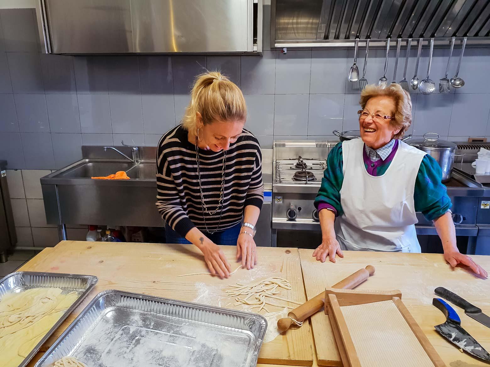 Monteleone d'Orvieto scuola cucina - In viaggio con Monica