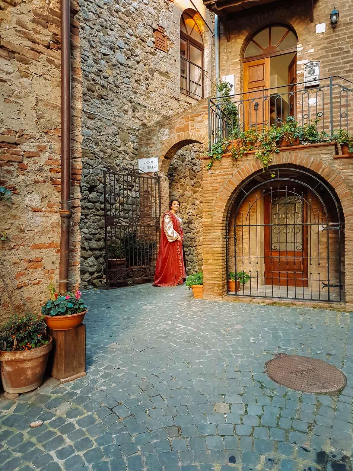 Monteleone d'Orvieto - dettaglio - In viaggio con Monica